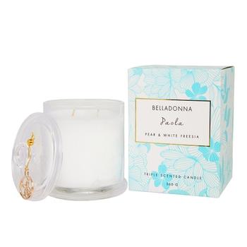 Pear & White Freesia Paola Scented Candle