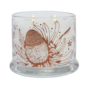 Cotton Flower & Lavender Amelie Scented Candle 200g