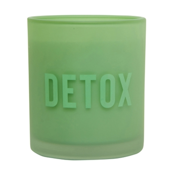Cucumber,Melon & Cayenne Detox 1 Wick Scented Candle