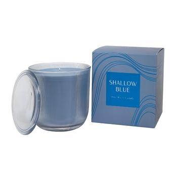Shallow Blue 1W Candle 50hr Orange Blossom & Lemon Tides
