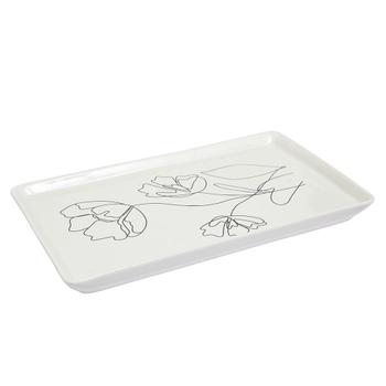 Lorna Rectangle Ceramic Plate