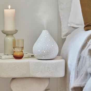Callista White Ceramic MoodMist® Diffuser